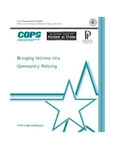 Bringing Victims into Community Policing