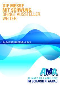 BRINGT AUSSTELLER WEITER