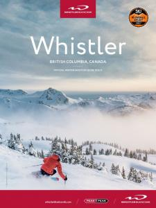 BRITISH COLUMBIA, CANADA OFFICIAL WINTER VACATION GUIDE
