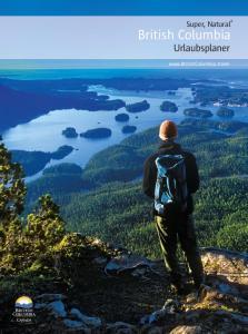British Columbia Urlaubsplaner