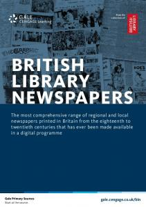 BRITISH LIBRARY NEWSPAPERS