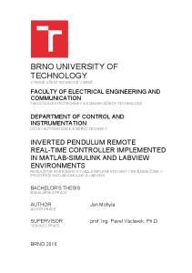 BRNO UNIVERSITY OF TECHNOLOGY
