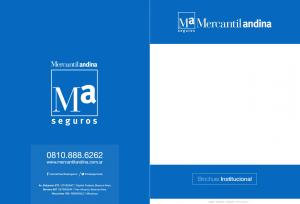 Brochure Institucional