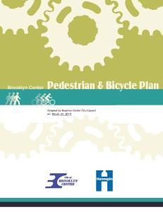 Brooklyn Center Pedestrian & Bicycle Plan