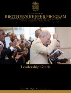 BROTHER S KEEPER PROGRAM