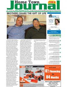 BROTHERS SHARE THE GIFT OF LIFE