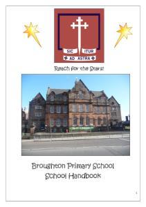 Broughton Primary School School Handbook