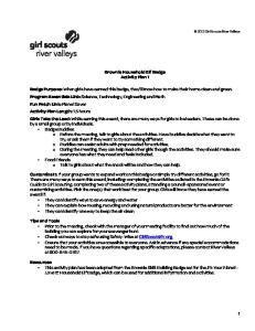Brownie Household Elf Badge Activity Plan 1