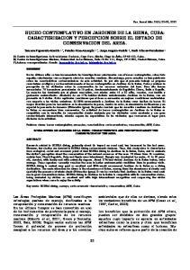BUCEO CONTEMPLATIVO EN JARDINES DE LA REINA, CUBA: CARACTERIZACION Y PERCEPCION SOBRE EL ESTADO DE CONSERVACION DEL AREA