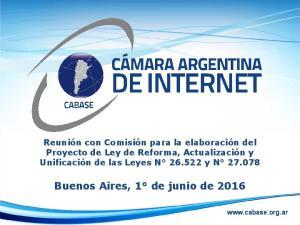 Buenos Aires, 1 de junio de 2016