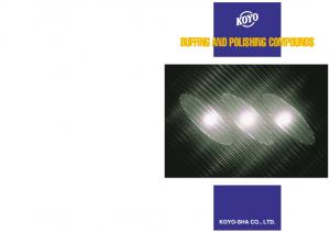 BUFFING AND POLISHING COMPOUNDS