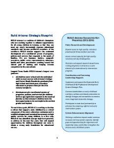 Build Arizona: Strategic Blueprint