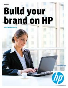Build your brand on HP