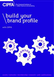 build your brand profile