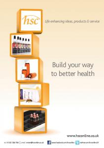 Build your way to better health