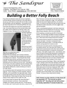 Building a Better Folly Beach