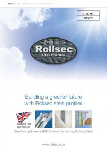 Building a greener future with Rollsec steel profiles