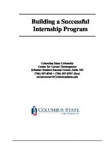 Building a Successful Internship Program