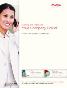 Building and Improving Your Company Brand