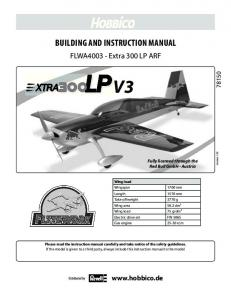 BUILDING AND INSTRUCTION MANUAL