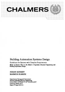 Building Automation Systems Design