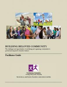 BUILDING BELOVED COMMUNITY