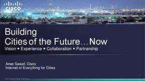 Building Cities of the Future Now