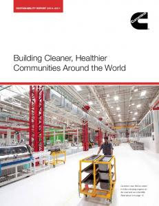 Building Cleaner, Healthier Communities Around the World
