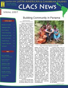 Building Community in Panama
