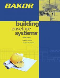 building envelope systems