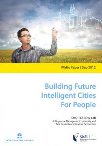 Building Future Intelligent Cities For People. White Paper Sep 2012