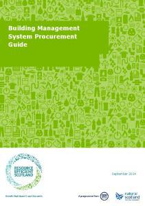 Building Management System Procurement Guide