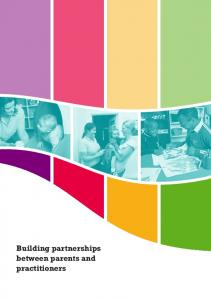 Building partnerships between parents and practitioners