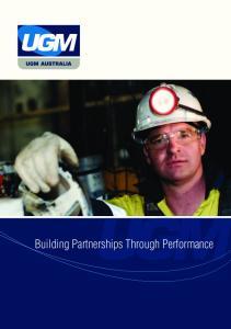 Building Partnerships Through Performance