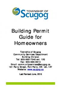Building Permit Guide for Homeowners