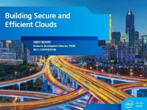 Building Secure and Efficient Clouds