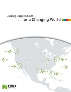 Building Supply Chains for a Changing World