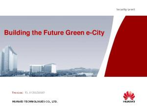 Building the Future Green e-city