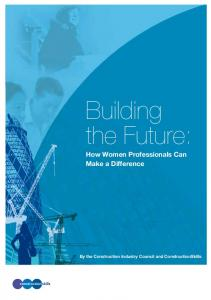 Building the Future: How Women Professionals Can Make a Difference