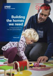 Building the homes we need