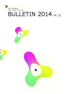 BULLETIN 2014 NR. 22