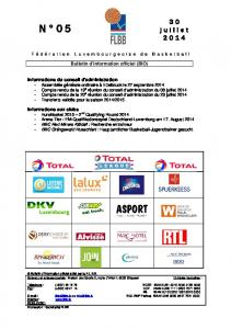 Bulletin d information officiel (BIO)
