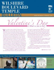 BULLETIN In This Issue