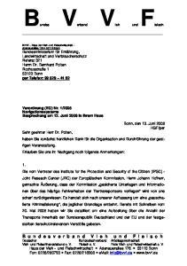 Bundes Verband Vieh und. Fleisch