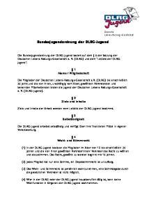 Bundesjugendordnung der DLRG-Jugend
