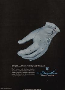Burgett...finest quality Golf Gloves!