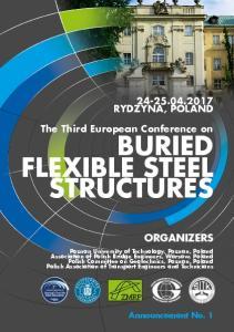 BURIED FLEXIBLE STEEL STRUCTURES
