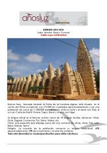 BURKINA FASO 2016 Lobis, Senufos, Mosis y Gurunsis Salida especial Navidad