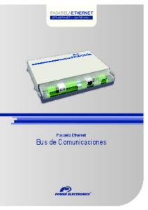 Bus de Comunicaciones
