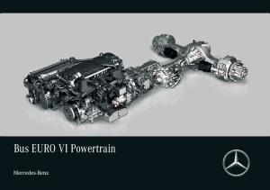 Bus EURO VI Powertrain